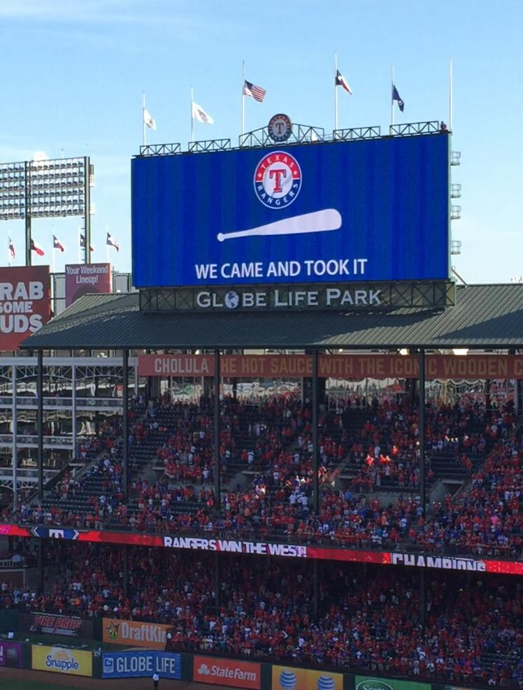 #NeverEverQuit Go Rangers!!! http://t.co/TZ6GXxr9rp