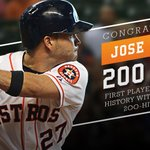 Congrats to @JoseAltuve27! First #Astros player in history with consecutive 200-hit seasons! #Hustle http://t.co/JZSjumaKnK