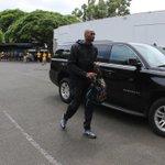 The Mamba arrives #AlohaLakers http://t.co/L0SM4BeVa6
