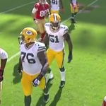 VIDEO: Clay Matthews to Colin Kaepernick: You aint Russell Wilson, bruh!' http://t.co/FGL3iwv6Hd http://t.co/7wLkARLAdX