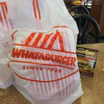 To honor the @Rangers & @Astros BOTH making the playoffs I decided to have the dinner of champions @Whataburger. http://t.co/XnxaoxvZ2U
