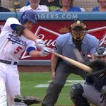 For just a month in The Show, Corey Seager sure knows how to put one on. http://t.co/pP9h40G2tC #LALovesOctober http://t.co/h9BkdSVvAi