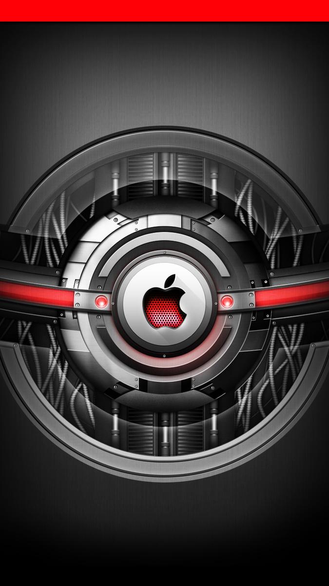 #TheWallsOfZro #Iphone6 #iphone6s #apple **RETWEET** Mechanical Apples http://t.co/3T7YMVX8yO