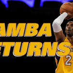 Kobe is BACK! http://t.co/cYyBeIPoA1