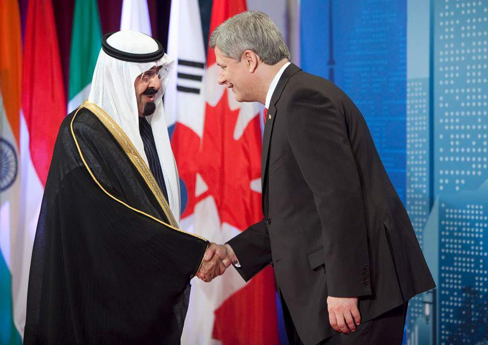 Your arms deal with the Saudis is a real election issue Mr Harper.  @pmharper #cdnpoli #canadavotes http://t.co/PfP65tQfAt