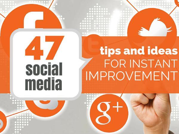 47 #SocialMedia Ideas, Formulas And Shortcuts for Instant Improvement  http://t.co/0e3mBDnAKJ  by @rebekahradice http://t.co/UOQTd7Vwk9