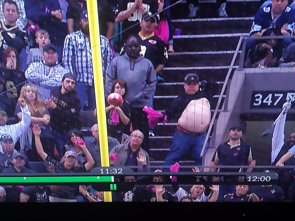 This is why the Saints just missed that field goal.