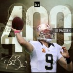 There it is! Drew Brees throws TD #400 to give the Saints the 26-20 win in OT over the Cowboys! http://t.co/eQdW8n39H7