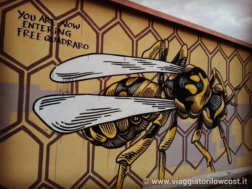 Street Art al #Quadraro, uno dei quartieri più belli ed autentici di #Roma :-) http://t.co/99Kfv3Nmjc