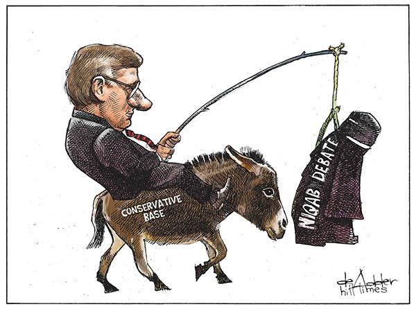 This week's editorial cartoon by @deAdder #cdnpoli #elxn42 http://t.co/9XPRAGwnKh