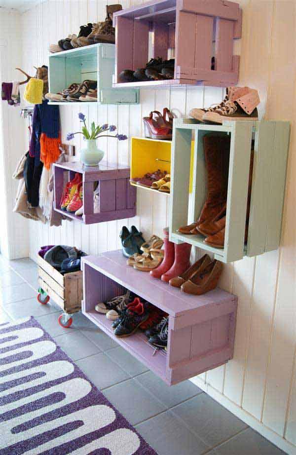 ¿buscas ideas para ordenar tus zapatos? -  #deco #diy #zapatos #decoracion