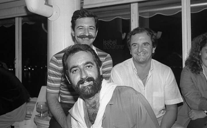 Arguiñano, Subijana y Arzak hace muchos años... vía @Lartaun_ http://t.co/UqJ7LeC9do