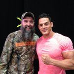 Thank you so much @MrPEC_Tacular. I had lots of fun at #BoundForGlory. You are a great wrestler and an awesome guy! http://t.co/llvoFjxsqe