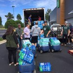 Loading up to bring the first truck down to Columbia! Still taking donations from 9a-5p this week! #FloodSCWithLove http://t.co/rQQlKFU3hN