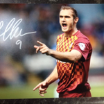 154 more followers and I will give away this James Hanson signed print! Please RT and Follow #bcafc #bradford http://t.co/OE1fd2j0g3