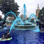 Kansas City has officially gone blue for the #Postseason! #TakeTheCrown http://t.co/uR8b1bw7hx