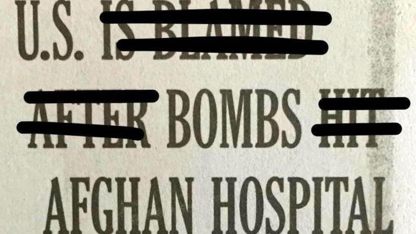 Ambiguous, misleading & dishonest language pervades coverage of US hospital bombing. http://t.co/UmfU7vqdI3 http://t.co/vx0CHDaJA2