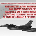 #NATO: Russian aircraft entered Turkish airspace despite clear,timely &repeated warnings READ:http://t.co/l6k2V7xOVx http://t.co/3bDaDQQ50I