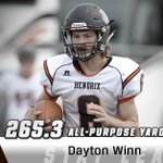 Dayton Winn of @HendrixWarriors 437 yards Saturday takes him from 8th to 1st. Leaders: http://t.co/MthUU9gXEE http://t.co/8dxHtaTEwk