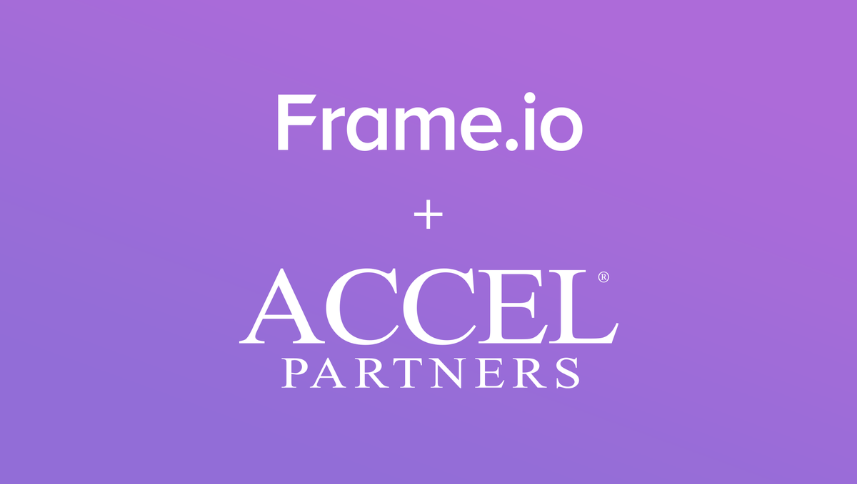 RT @Frame_io: Thrilled to announced we've raised $2.2M from @Accel @JaredLeto and more. Details here http://t.co/xchFoE0gIY http://t.co/zHT…