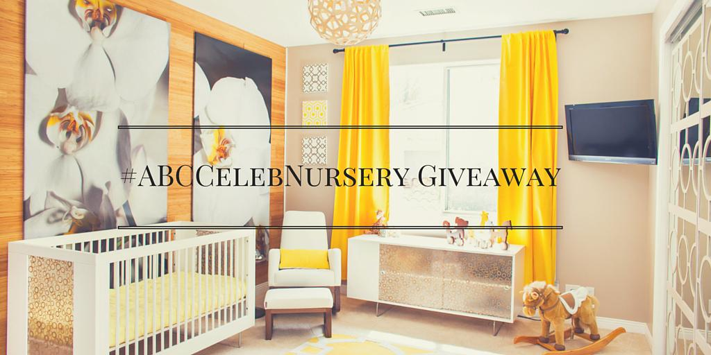 Here's your chance at a designer nursery! Share your bump pic or how you get ready for baby, tag #ABCCelebNursery http://t.co/uWPtBapAyn
