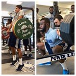 Georgia Southern FB Back At Work Today. Using The Off Week To Get Better. #GATA #TrueBlueCollar #southernstrength http://t.co/Lija2A5hr2