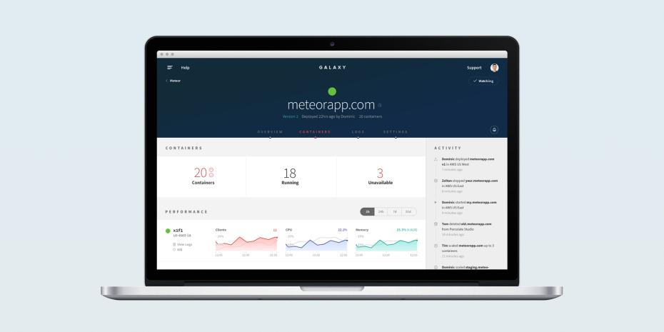 .@meteorjs officially launches Galaxy, for running and hosting Meteor-based apps on AWS! http://t.co/gXcbmx0Uzw http://t.co/ha0EldgB9z