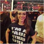 "Best sign spotted so far ""Paul Heyman sweats butter"" #RAW @HeymanHustle #girl http://t.co/L8ggO7B9PE"