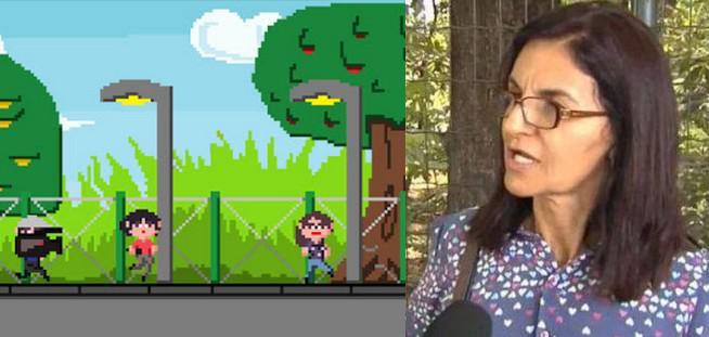 "Senhora, a Senhora já viu que ""Senhora Volta Aqui"" virou um jogo para celular? Senhora?  http://t.co/lDv85FPoKi http://t.co/pD8KS8nja5"