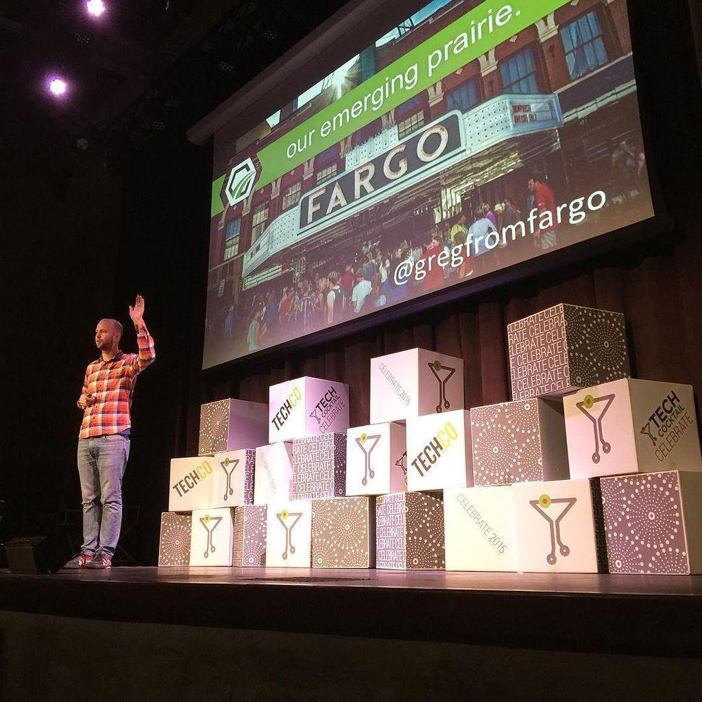 Hi @gregfromfargo! Looking good on the #Celebrate2015 stage spreading the good word about … http://t.co/EGhgs7t85F http://t.co/Zz6nYAIuuL