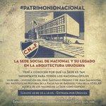 ¡Visita obligada para el fin de semana del Patrimonio! Somos #PatrimonioNacional http://t.co/5RewAEUjbS