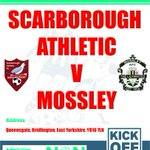 Next for Boro: Scarborough Athletic v @mossleyFC (#EvoStikNPL D1N) Saturday 10 October 3pm #NonLeagueDay http://t.co/UrD5WkUpdq