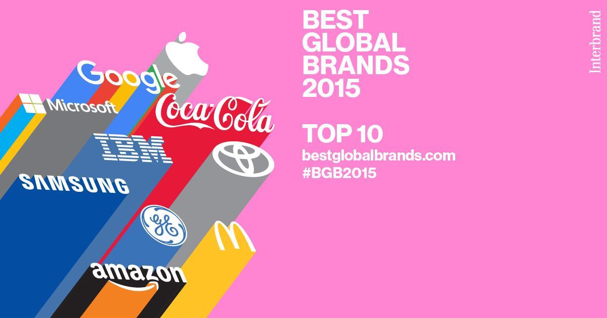 #BGB2015 Top 10 #Apple @google @CocaCola @microsoft @ibm @toyota @samsung @GE @McDonalds http://t.co/zDraUdo6a5 http://t.co/mjkQOuk1Fl