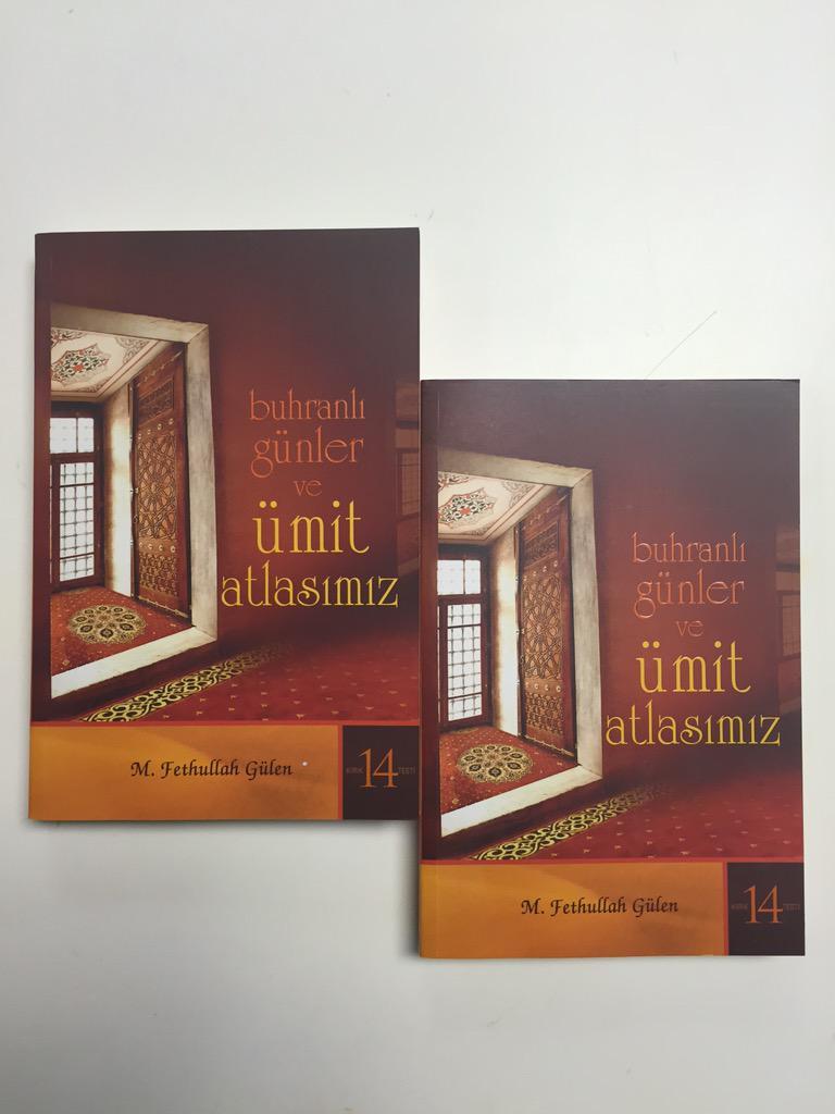 Hocaefendinin son kitabı Buhranlı Günler ve #ümitatlasımız raflarımızda yerini aldı. http://t.co/0vrZ80dw7E