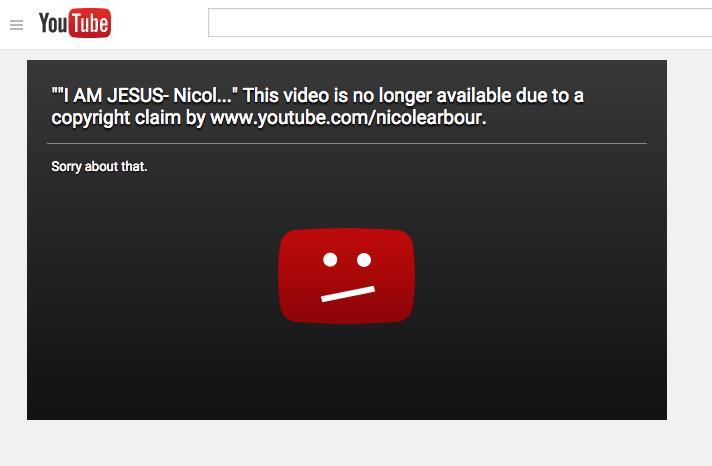 """Hey @NicoleArbour what happened to """"Freedom of Speech"""" and """"Satire""""??? http://t.co/Sz0wdPXRc4"""