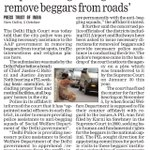 RT @Vote4AAP: 'Cops assisting Delhi govt to remove beggars from roads' - Delhi Police to HC #DelhiGovernance http://t.co/ZYPxF5xet2 via @AA…
