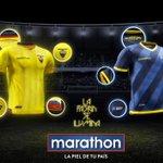 Te presentamos la nueva camiseta oficial y alterna de la Selección Ecuatoriana de Fútbol. http://t.co/Wmkh9YMrau