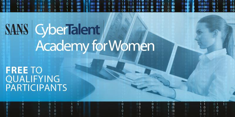 Women's Cyber Academy now accepting applications at http://t.co/6oRxZ6NziV. Free to qualifying candidates #cyberjobs http://t.co/LPTYH1WMsP