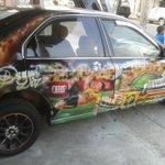 @Kitudiaz1070 saludos desde Yaguachi - Ecuador para recordar siempre tu chilena marcado n mi vehículo Kitu http://t.co/3991qDJq2s
