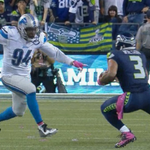 What a play for the sack, fumble, and fumble recovery!  Someone should block Ziggy Ansah. http://t.co/8gGFn8Giz0