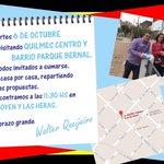 #Quilmes Atención Quilmes Centro y Barrio Parque Bernal. Este martes paso por tu casa para contarte nuestro proyecto http://t.co/IreDtRyz7k