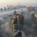 #Fotografías. Niebla cubre los rascacielos de Dubái. http://t.co/1igYWPA8Xi http://t.co/AEZGpOr9yo
