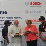 Witnessing the various technological innovations at Bosch. http://t.co/s5sx61O4ce