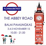 #jogja @FlohmarktFest: 3-5/11/15 10.00-21.00 The Abbey Road di Balai Pamungkas http://t.co/8TYzqvHDKf