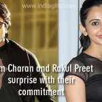 #RamCharan and #RakulPreet surprise with their commitment - http://t.co/J48K7uOLSz #BruceLeeTheFighter #Chiranjeevi http://t.co/KrRVE6hnxj