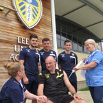 READ | #lufc help kick-off the @LCHNHSTrusts staff flu campaign: http://t.co/uFH0o3Fx7R http://t.co/yZL0hMAaXz