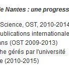 Progression exceptionnelle de la Recherche : #UnivNantes intègre le classement @timeshighered http://t.co/6hRp7LGfKr http://t.co/BSdKo2Hn1D