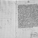 Carta de Carlos I a la ciudad de Burgos avisando de que el 24 de febrero (1530) tomó la corona de Emperador #Carlos5 http://t.co/FKCxD5u9r8