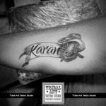 Done By: Pranav Pancholi Call for Appointment 9428170781 / 8128384851 #Tattoo #Vadodara #Baroda #Gujarat #Inked #Name http://t.co/NydVYAGtAo