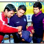 RT @sandy_rokss: @cricketaakash @RpSingh99 @ImRaina Where is this pic taken.Seems to be Polio vaccination camp. http://t.co/LGj6yXh9G2